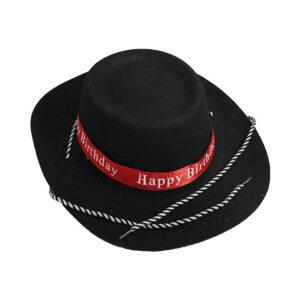 کلاه کابوی مخملی