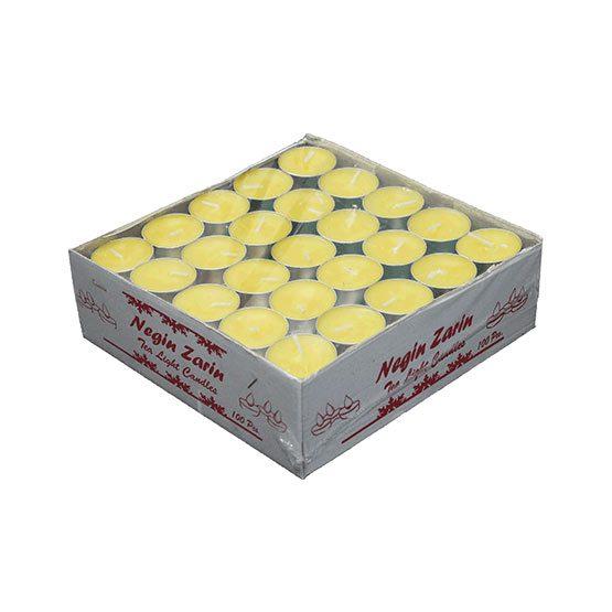 شمع وارمر 100تایی زرد