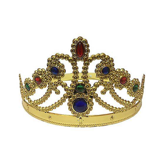 تاج ملکه طلایی