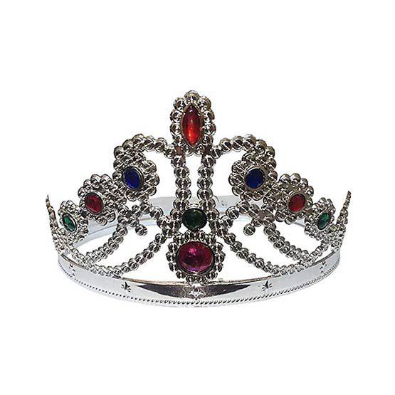 تاج ملکه نقرهای