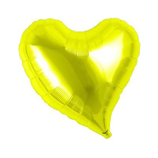 بادکنک فویلی قلب اشکی طلایی