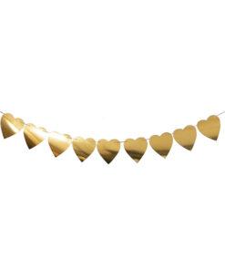 ریسه قلب طلایی