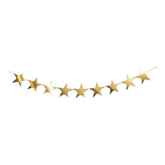 ریسه ستاره طلایی