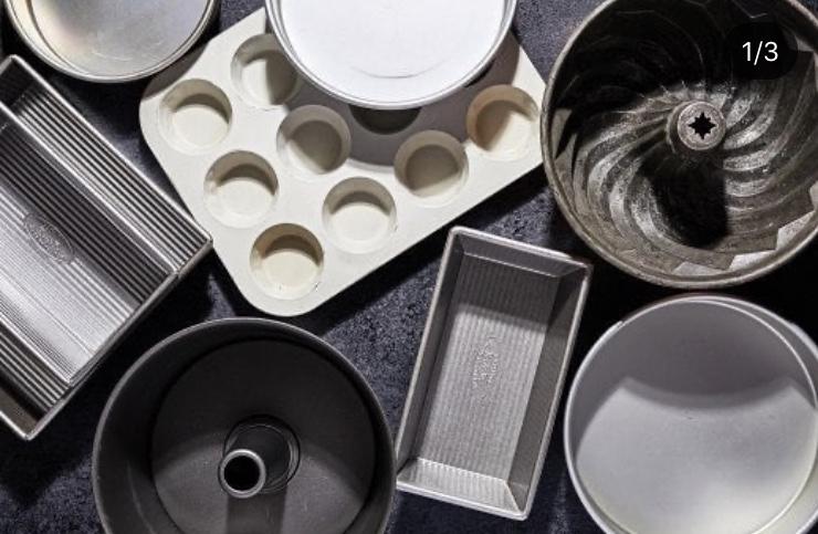 ابزار آلات پخت کیک تولد - قالب کیک