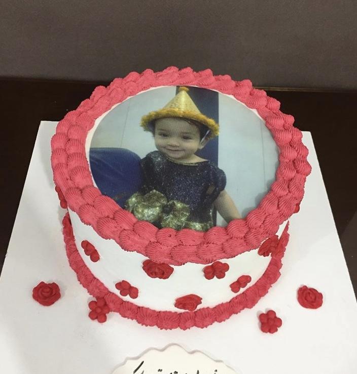 تزئین کیک - کیک چاپ خوراکی